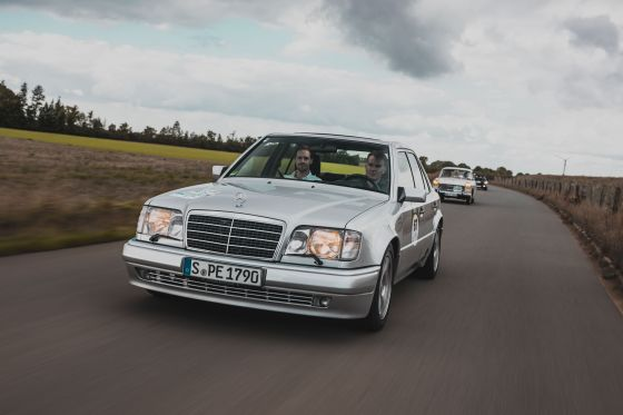 Mercedes E 500 Limited: Klassiker des Tages