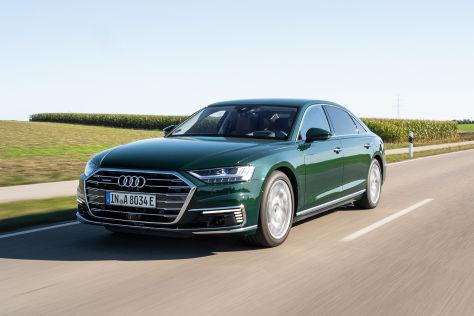 Audi A8 L 60 TFSI e quattro (2019): Plug-in-Hybrid, elektrifiziert,