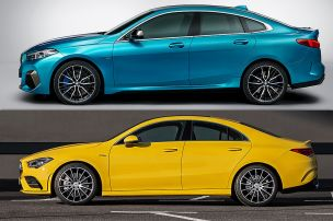 BMW 2er Gran Coupé vs. Mercedes CLA