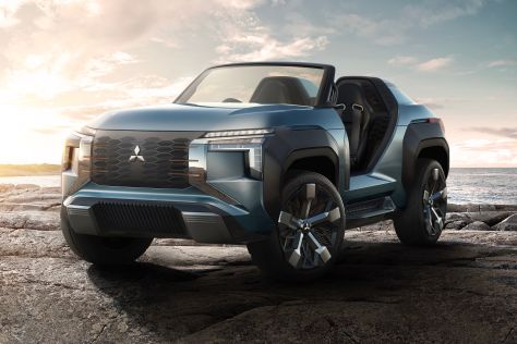 Mitsubishi MI-TECH Concept (2019): Turbine, Plug-in, Tokyo Motor Show