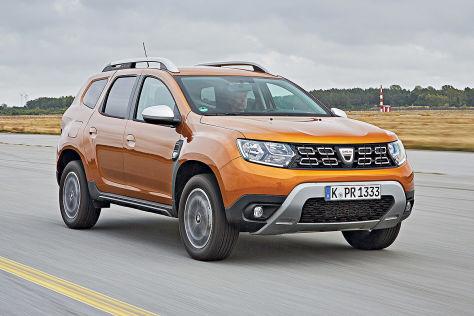 Dacia Duster/VW Golf: Zulassungen in Europa
