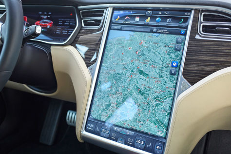 Tesla-Display: Probleme