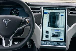 Ärger mit dem Display bei alten Teslas