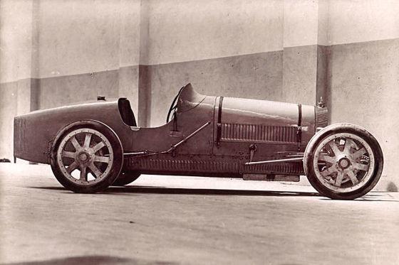 Erste Alufelge stammt von Bugatti