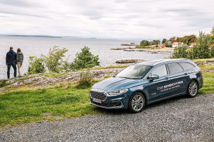 Mit dem Ford zum Fjord