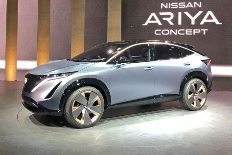 Nissan Ariya Concept: autonomer Elektro-SUV-Crossover ...