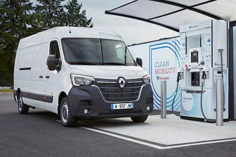Renault Kangoo Z.E./Master Z.E. Hydrogen (2019): Brennstoffzelle, Elektroauto, Marktstart