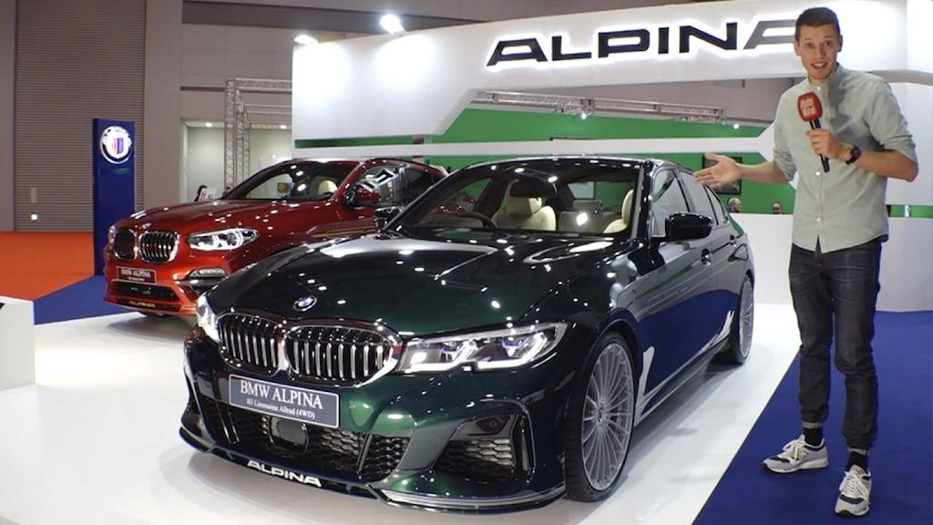 bmw alpina b3 limousine (2020): neuvorstellung - tuning