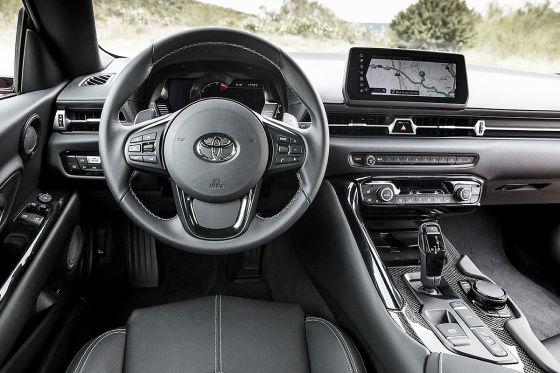 Handschalter für den Toyota Supra