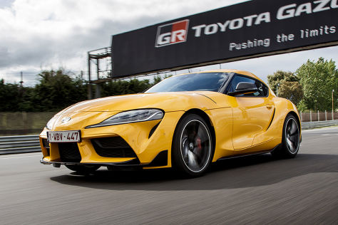 Toyota Supra Tuning: European Auto Group Handschalter