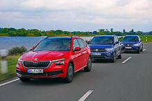 Seat Arona, Skoda Kamiq, VW T-Cross: Test