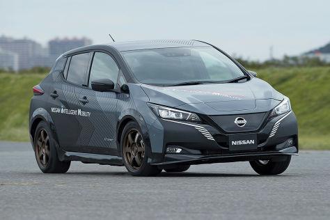 Nissan Leaf e+ (2019): Leistung, Test, Elektroauto