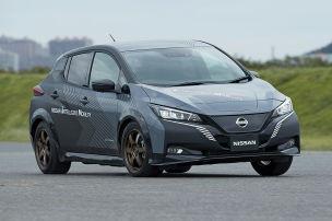 Nissan arbeitet am Leaf mit 309 PS