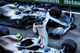Bottas macht Mercedes zum Weltmeister