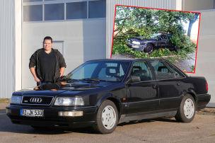 Audi V8 mit einem zweiten Leben