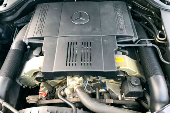 Mercedes S 500 im Jahreswagenzustand