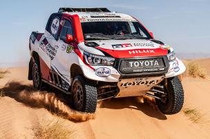 Dakar: Alonso-Start fix