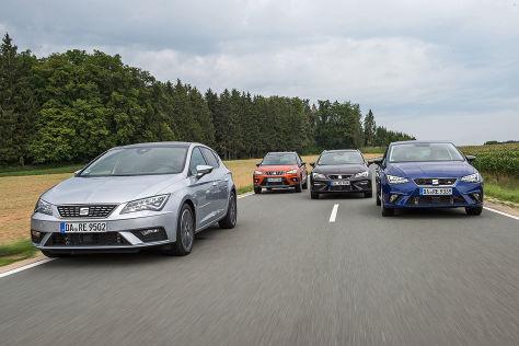 Seat Leon 1.5 TGI, Seat Arona 1.0 TGI, Seat Leon Sportstourer ST 1.5 TGI, Seat Ibiza 1.0 TGI