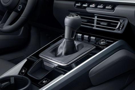 Porsche 911 (992): Handschaltung
