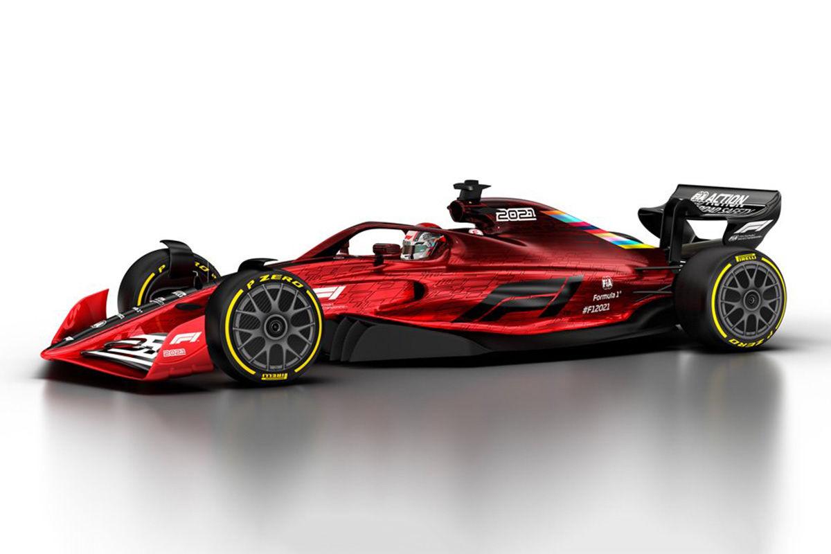 Formel 1: So sieht die Formel 1 ab 2021 aus.