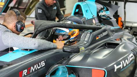 Formel 3: Comeback nach Horrorcrash