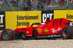 Sorgen um Leclercs Ferrari-Motor