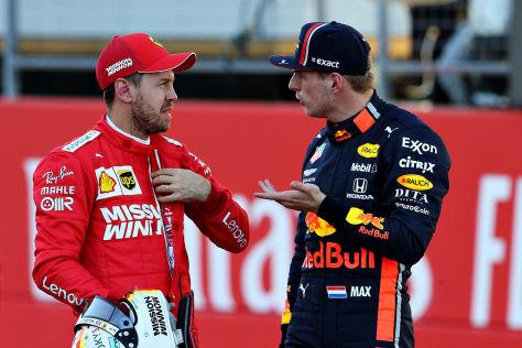 Formel 1: Verstappen wirft Ferrari Betrug vor