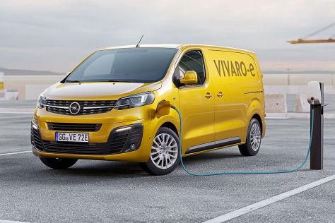 Opel Vivaro-e (2020):
