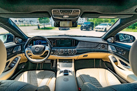 Luxus-Benz mit 900 PS zu verkaufen