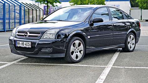 Opel Vectra GTS: V6, 248 km/h