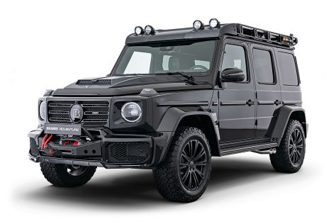 Mercedes G 350 d Tuning: Brabus Adventure