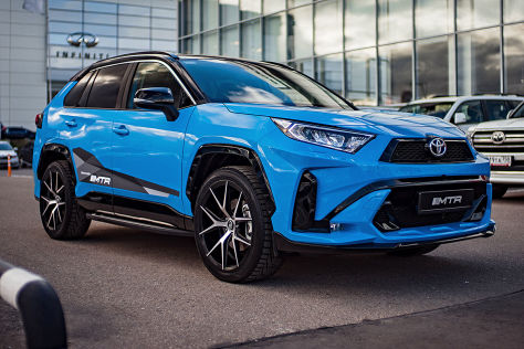 Toyota RAV4 Tuning: MTR Design Body-Kit