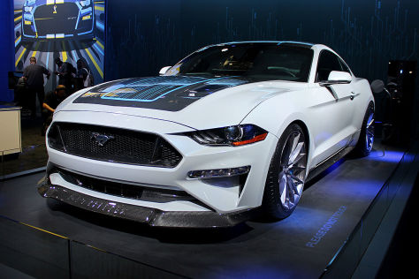 Ford Mustang Lithium vorgestellt