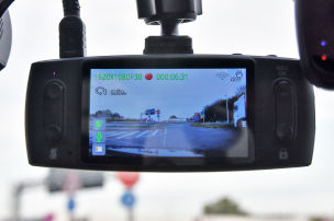 Dashcam mit Software-H�ngern