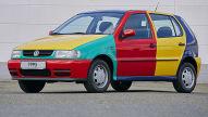 VW Polo Harlekin: Klassiker des Tages