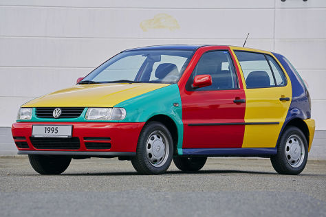 VW Polo Harlekin: