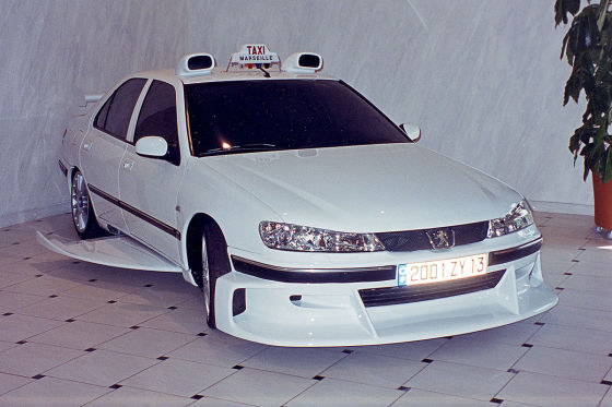 "Peugeot 406 ""Taxi"": Auto, Film, 1998, Bodykit"
