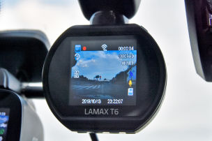 Dashcam im Mini-Format