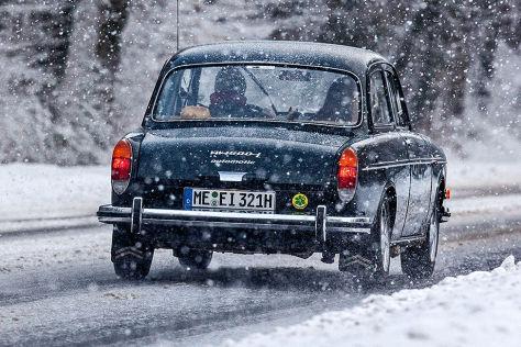 Tipps zum Oldie-Fahren in der Winterzeit