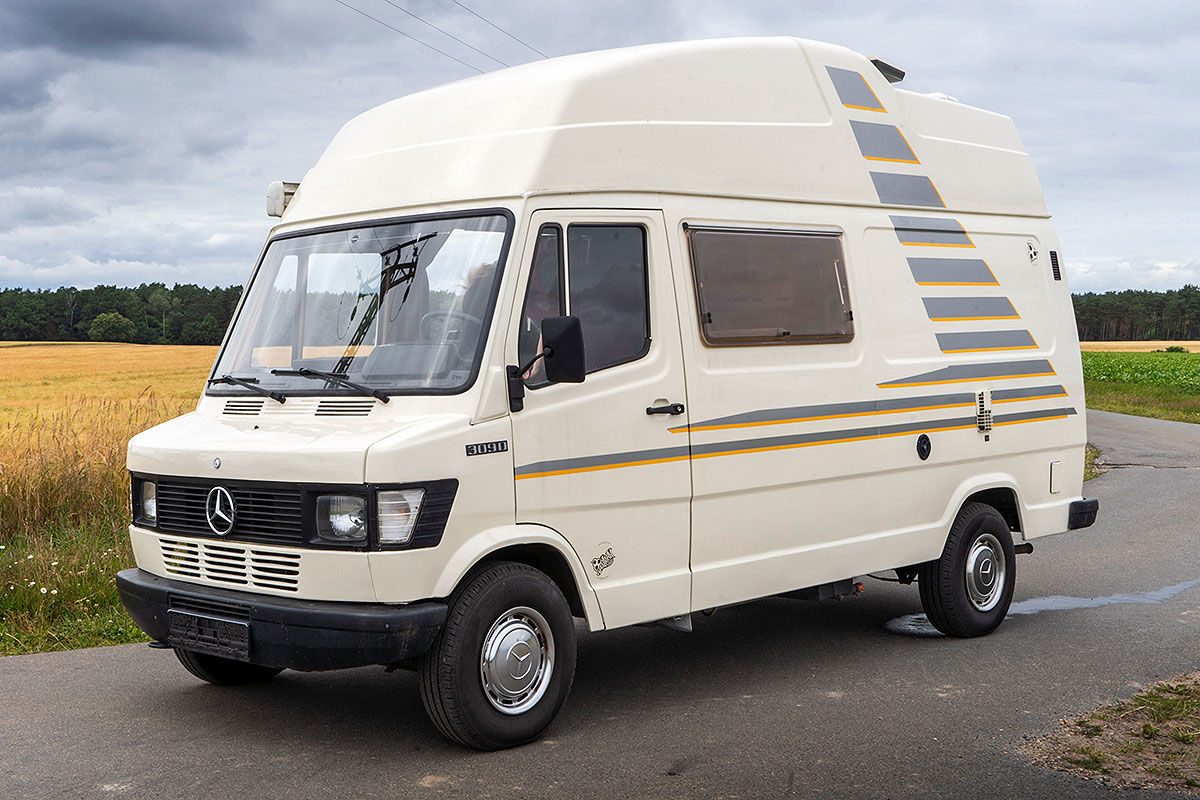Wohnmobil-Test Mercedes James Cook 309 D