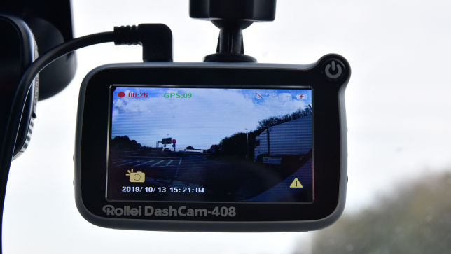 Test zur Rollei Dashcam 408