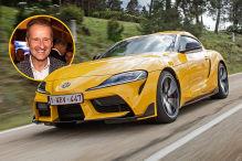 Toyota Supra: VW-Chef brachte Supra mit auf den Weg
