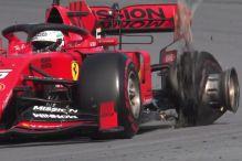 Formel 1: Vettel und Leclerc kollidieren