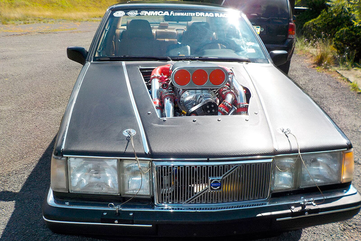 Volvo 960: Krasser Monster-Dragster