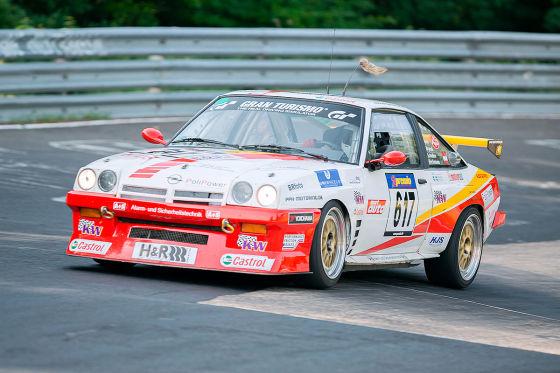 Opel Manta VLN: Nürburgring, 24h, Kissling