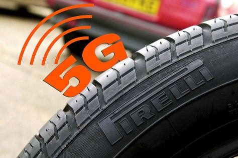 Pirelli Cyber Reifen (2019): 5G, Sicherheit, Car2Car
