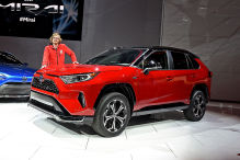 Plug-in-Version bleibt ein RAV4