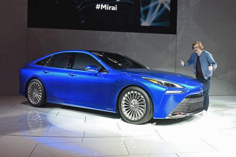 Toyota Mirai (2020): Meinung, Wasserstoff, Brennstoffzelle