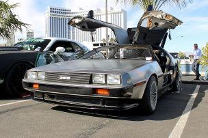 Elektro-DeLorean mit Nissan Leaf-Motor