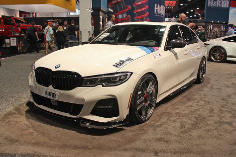BMW 3er Limousine Tuning: H&R Tieferlegung
